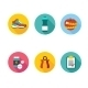 Set of Sport Icons - GraphicRiver Item for Sale