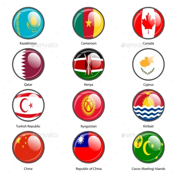 GraphicRiver Flags of the World 10518996
