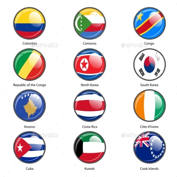 GraphicRiver Flags of the World 10518998