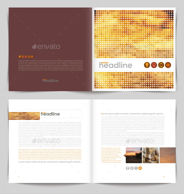 GraphicRiver Vector Template Booklet Design 10519032