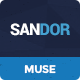 Sandor - Creative Multipurpose Muse Template