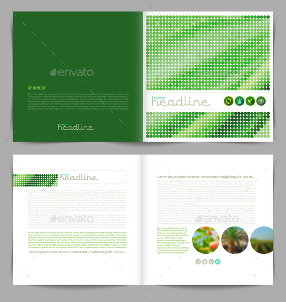 GraphicRiver Vector Template Eco Booklet Design 10519204