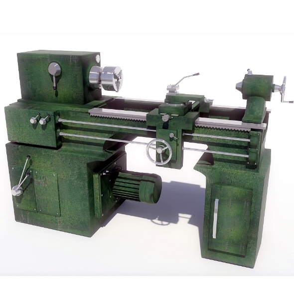 Lathe - 3DOcean Item for Sale