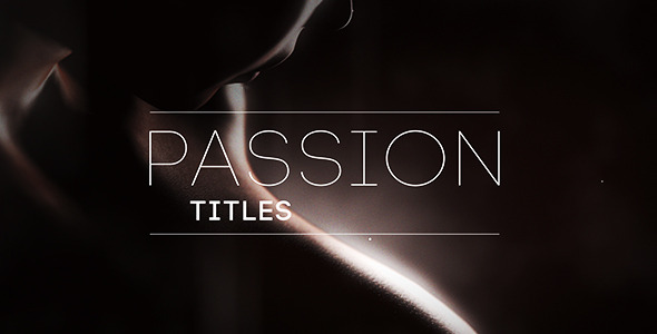 VideoHive Passion Titles 10519633