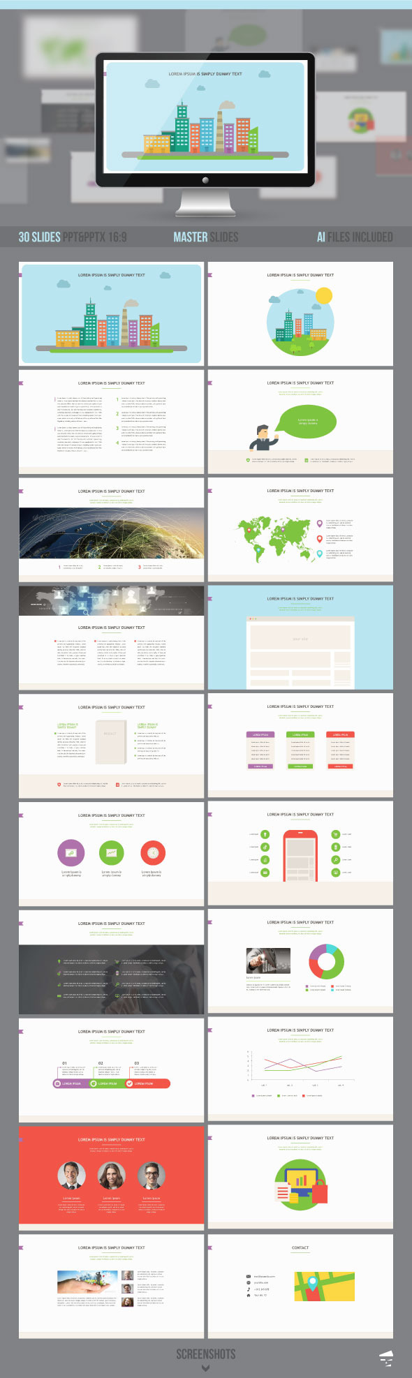 GraphicRiver Business presentation template 10519638