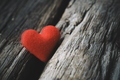 red heart on the wood texture - PhotoDune Item for Sale