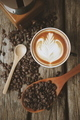 coffee on the wood texture - PhotoDune Item for Sale
