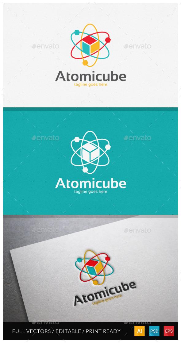 GraphicRiver Atomicube Logo Template 10519762