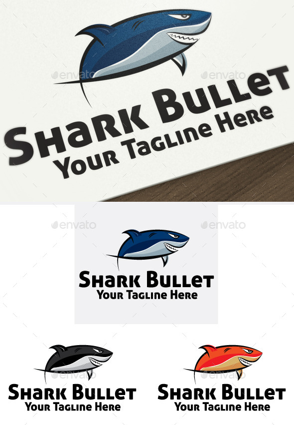 GraphicRiver Shark Bullet 10520311