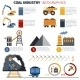 Coal Industry Infographics - GraphicRiver Item for Sale