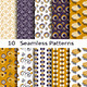 Set of Ten Seamless Patterns - GraphicRiver Item for Sale
