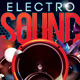 Abstract Electro Sound Night Party In Club - GraphicRiver Item for Sale
