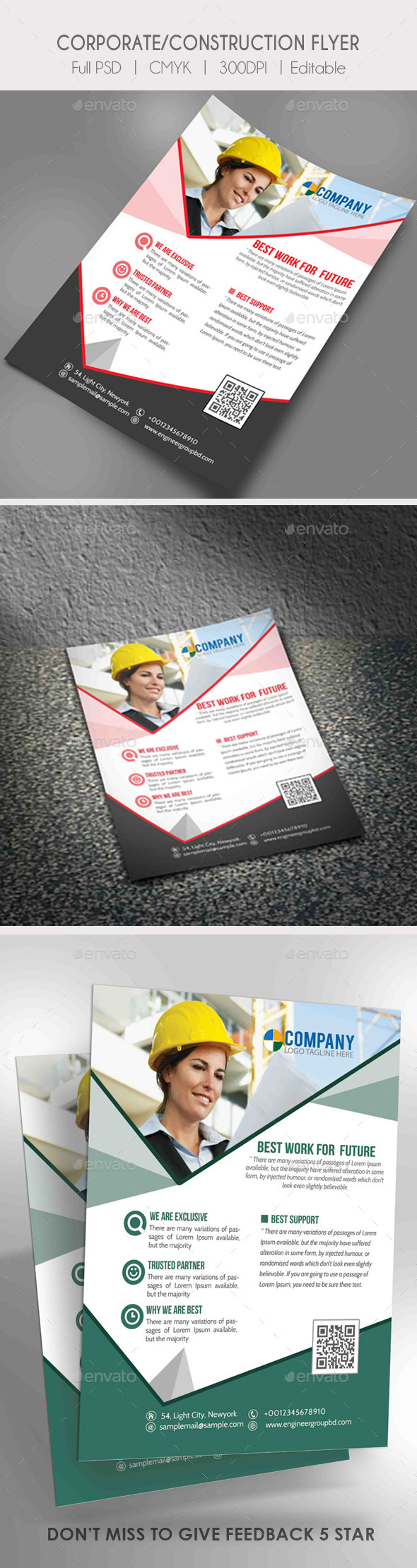 GraphicRiver Real Estate Business Flyer 10453682