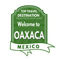Welcome to Oaxaca stamp - PhotoDune Item for Sale