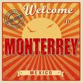 Monterrey touristic poster - PhotoDune Item for Sale