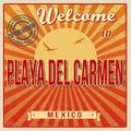 Playa del Carmen touristic poster - PhotoDune Item for Sale