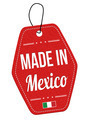 Made in Mexico label or price tag - PhotoDune Item for Sale