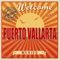 Puerto Vallarta touristic poster - PhotoDune Item for Sale
