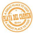 Playa del Carmen stamp - PhotoDune Item for Sale