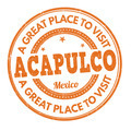 Acapulco stamp - PhotoDune Item for Sale