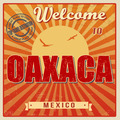 Oaxaca touristic poster - PhotoDune Item for Sale