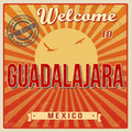 Guadalajara touristic poster - PhotoDune Item for Sale