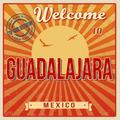 Guadalajara touristic poster - PhotoDune Item for Sale