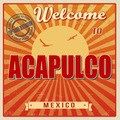 Acapulco touristic poster - PhotoDune Item for Sale