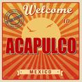 Acapulco touristic poster - PhotoDune Item for Sale