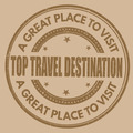 Top travel destination stamp - PhotoDune Item for Sale