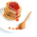 Tasty pancakes with syrup - PhotoDune Item for Sale