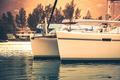 Recreational Yacht in sunlight haze - PhotoDune Item for Sale