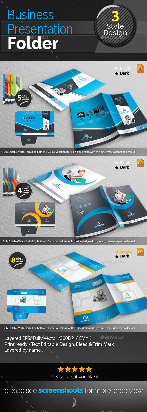 GraphicRiver Corporate Presentation Bundle 10521462