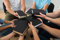 Group Of People Holding Holy Bible - PhotoDune Item for Sale