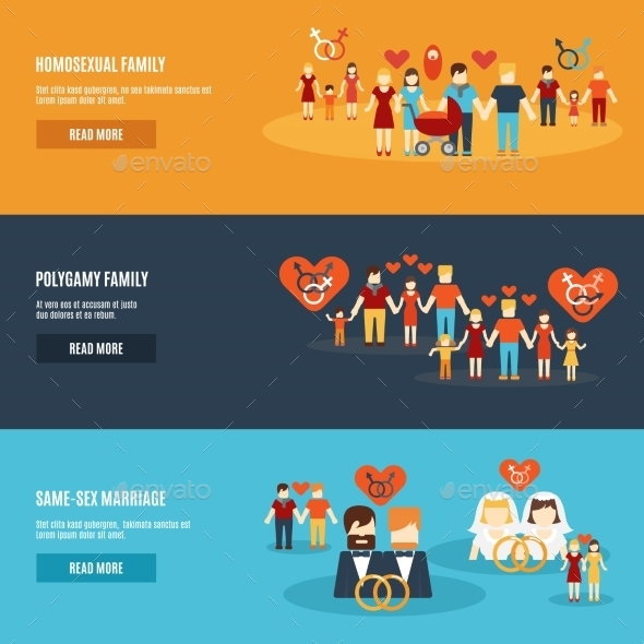 GraphicRiver Family Banners 10521687
