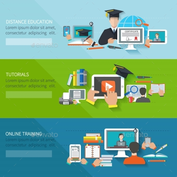 GraphicRiver Online Education Banner 10521701