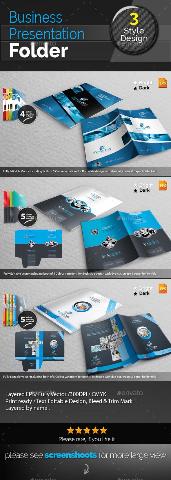 GraphicRiver Corporate Presentation Folder Bundle 10521988