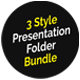 Corporate Presentation Folder Bundle - GraphicRiver Item for Sale