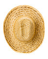 straw hat isolated on a white background - PhotoDune Item for Sale