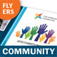 Community Service Flyers – 4 Options - GraphicRiver Item for Sale