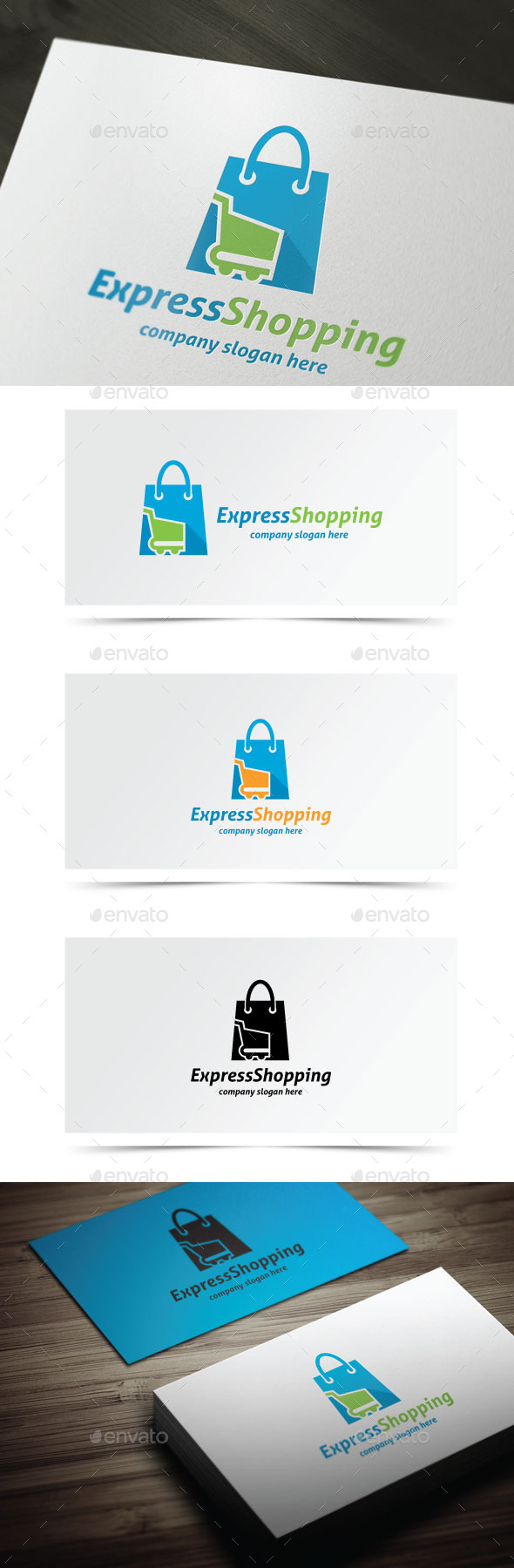GraphicRiver Express Shopping 10522301