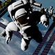 Astronauts Conduct Spacewalk Outside ISS Pack of 4 - VideoHive Item for Sale