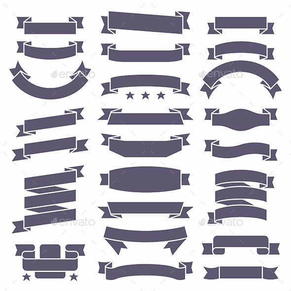 GraphicRiver Ribbons Set 10522379
