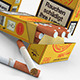 German Box of Cigarettes C4D (FBX, OBJ, 3DS, DAE) - 3DOcean Item for Sale