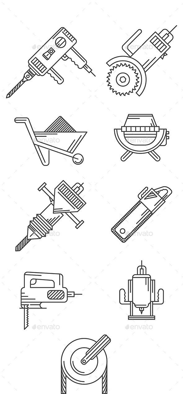 GraphicRiver Construction Equipment 10522608