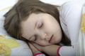 Little girl sleeping in bed - PhotoDune Item for Sale