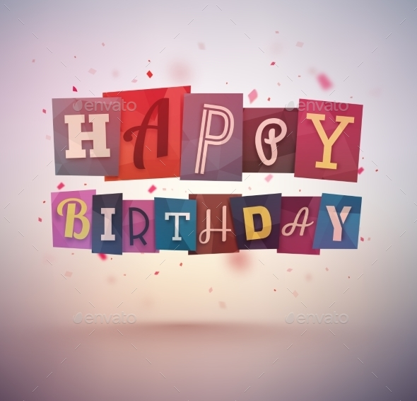 GraphicRiver Happy Birthday 10523753