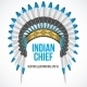 Indian Chief Hat with Plumage - GraphicRiver Item for Sale