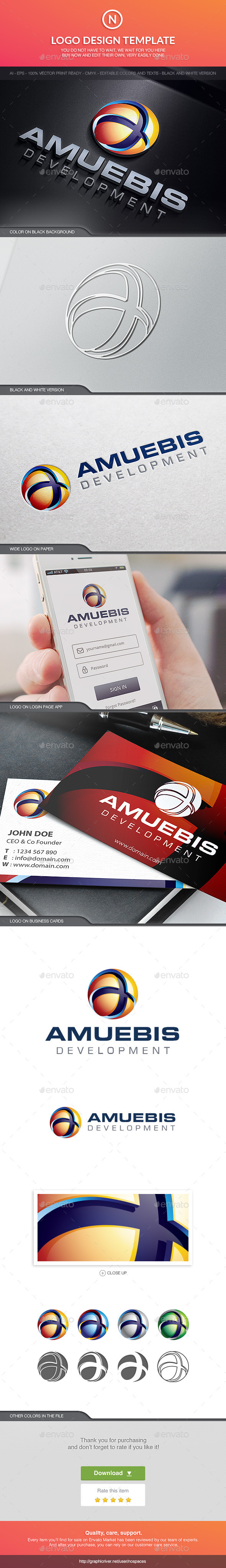 GraphicRiver Amuebis Tech Sphere 10524165