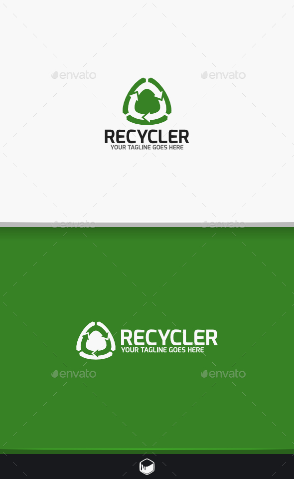 GraphicRiver Recycler Logo 10524240